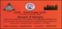 CCF induction card front