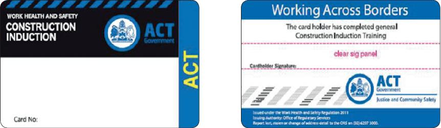 GIT Cards for ACT