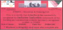 CFMEU induction card