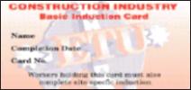 ETU induction card front