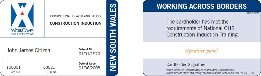 GIT Cards for NSW 2