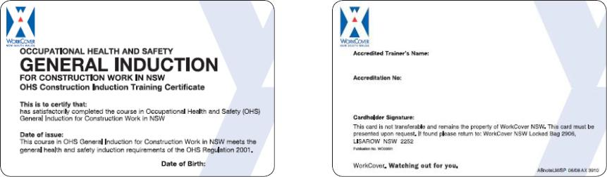 GIT Cards for NSW 3