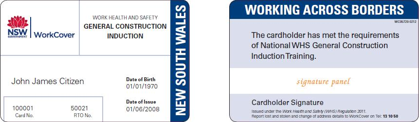 GIT Cards for NSW