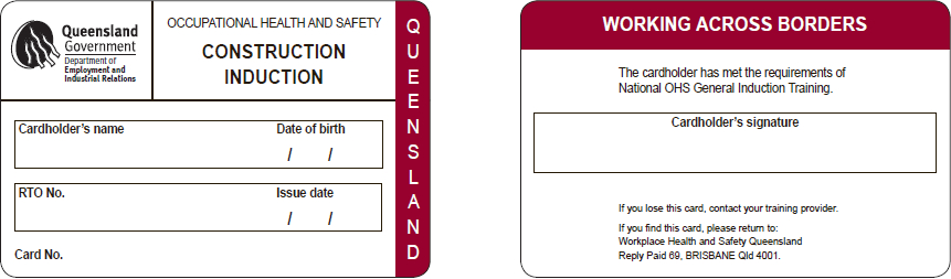 GIT Cards for QLD