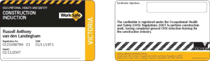 GIT Cards for VIC